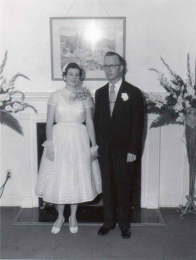 Jimmy and Billie Breland were married in 1954 and remained very much in love during their 60 years together.