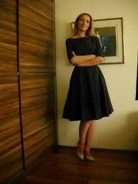 siyah kloş elbise ile ilgili görsel sonucu