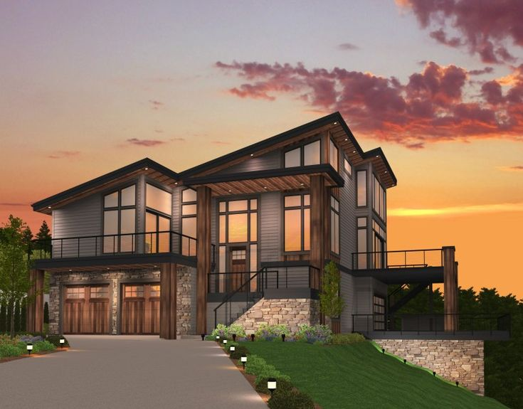 18 best House plans images on Pinterest Modern house plans
