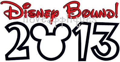 INSTANT DOWNOAD Cute Mickey Mouse Disney Bound by iloveappliques, $2.50