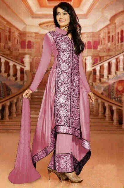 Gamis Pesta Modern INDIA SET PINK - http://warongmuslim.com/gamis-pesta/gamis-pesta-modern-india-set-pink/