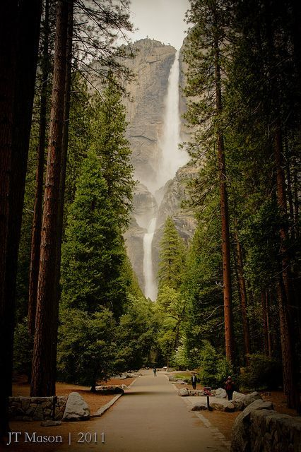 Yosemite Falls - love Yosemite! I should go again sometime soon :)