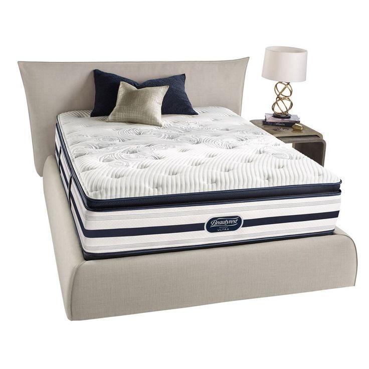 Beautyrest Recharge Reynaldo Luxury Firm Pillow Top Queen-size Mattress Set