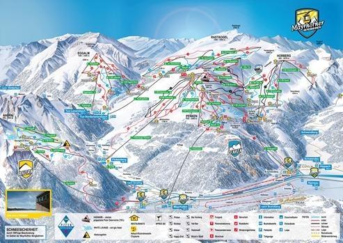 Skiplan Mayrhofen - Austria