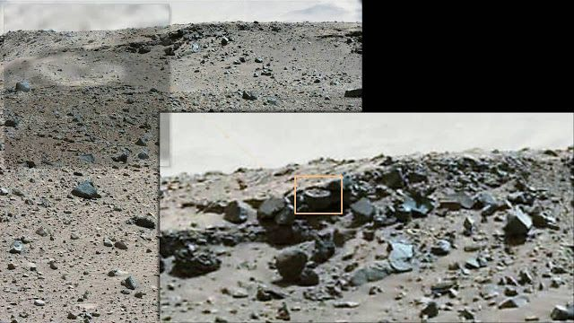 AWAKENING FOR ALL: MARS: NASA finds Mechanical Parts and a Wheel?