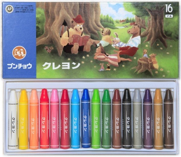 Buncho crayons. They also have paint and oil pastels. Japanese brand. Japanese stationary products are the best, always so cute.