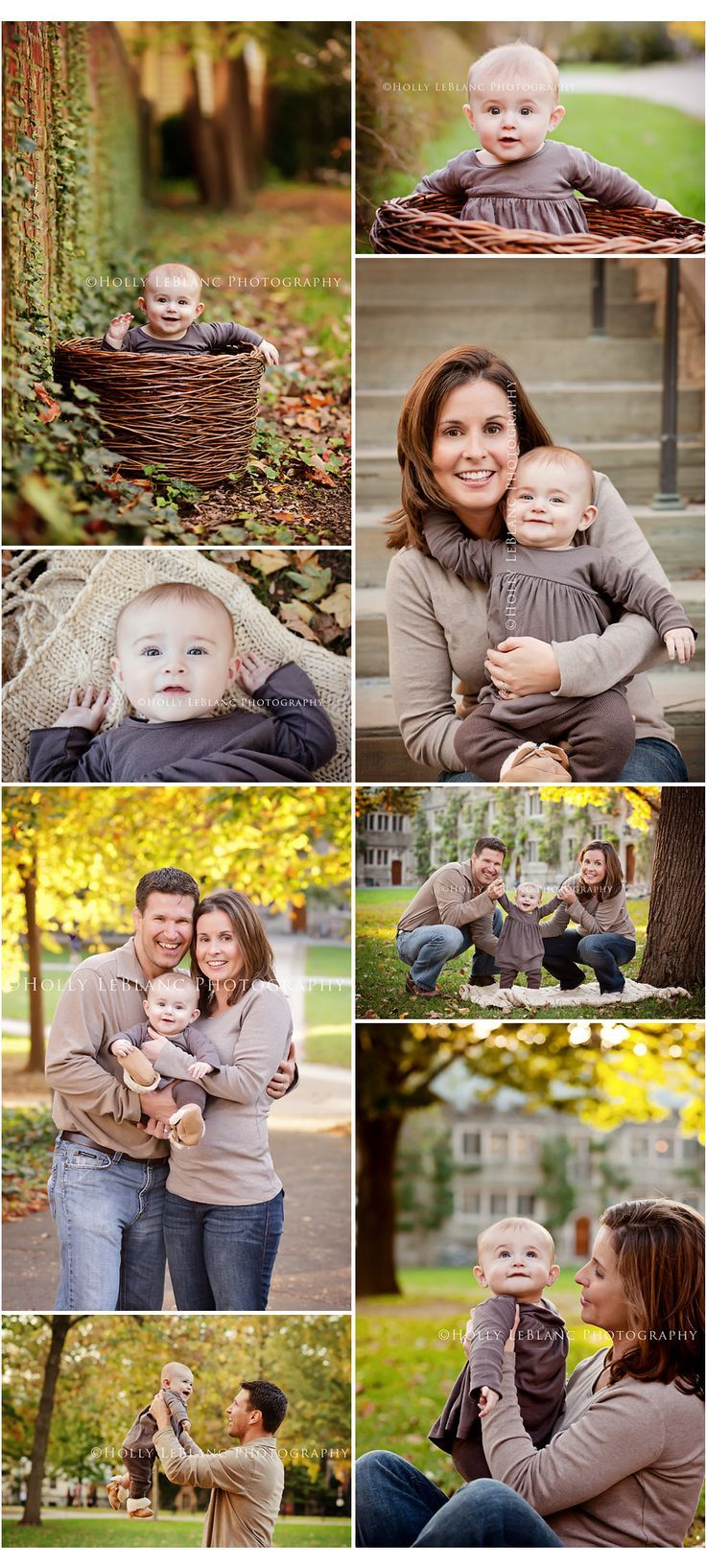 beautiful session with baby and parents