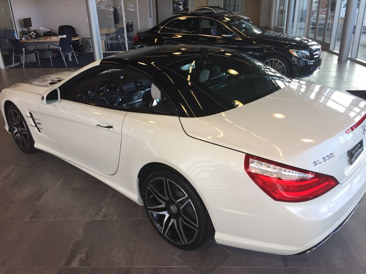 """2015 SL550 """"White Arrow"""" Edition in designo Diamond White ..."""