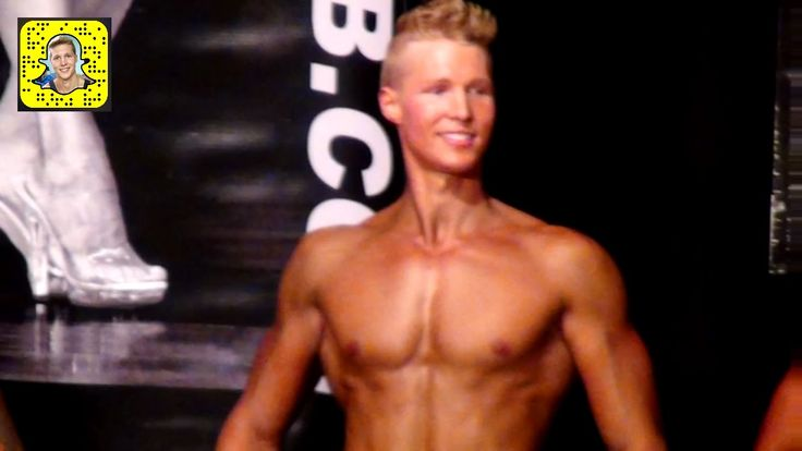 WNBF Men's Physique & Bodybuilding Show 2016 - Natural Aesthetic Fitness