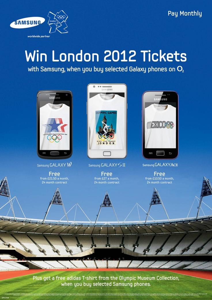 Win London 2012 Tickets