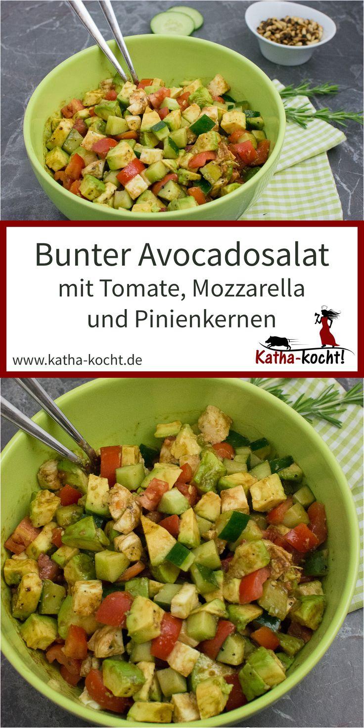 Bunter Avocado Salat