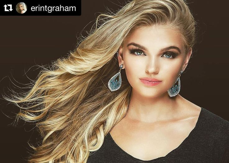 """Everyone wish the gorgeous @erintgraham good luck this weekend as she competes for the title of Miss California Teen USA!  {{She is wearing Crown Jewels 20""""-180g in """"Ash Blonde/Dirty Blonde}}  BE PREPARED FOR PAGEANT OVERLOAD Tomorrow is day 1 of 3 at #MissCaliforniaTeenUSA & #MissCaliforniaUSA! Bitter sweet to be competing in my last year as a teen but I can't wait! Thank you so so much to all of my sponsors who have helped me along the way including those who are seen in this awesome shot…"""