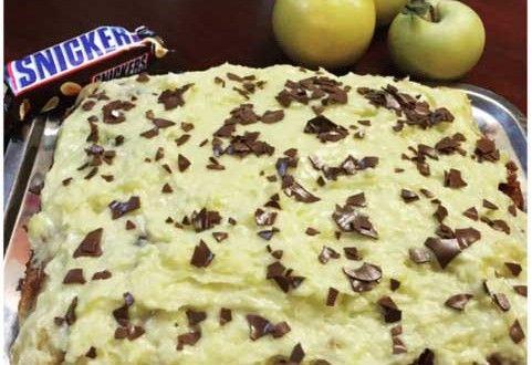 Prăjitură cu mere și snickers | Arad 24 - Știri conectate la realitate