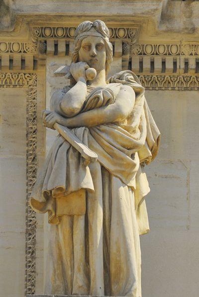 La Résignation. David d'Angers.. Marseille