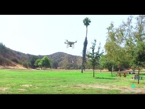 We fly the DJI Phantom 4 drone and test its collision avoidance, active tracking, and more.