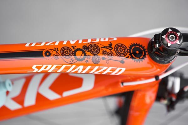 A close-up look at Sylvain Chavanel's Birthday Present