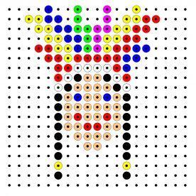 Kralenplank Indiaan http://www.kleutergroep.nl/Indianen/Kralenplanken/indiaan%20copy.jpg
