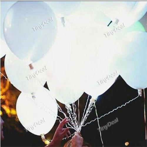 5 Adet LED Işık Balon - İlginç Hediyeler - Durbuldum.com - festival balonu