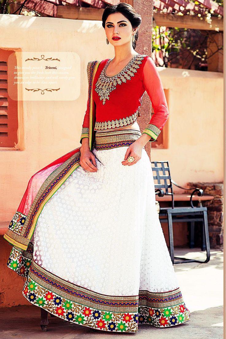 Choli Designs By Triveni