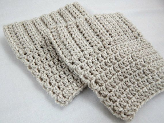 Beige Boot Cuffs Womens Crochet Boot Socks Knit Boot Toppers Fall and Winter Leg Warmers #etsy #etsyretwt