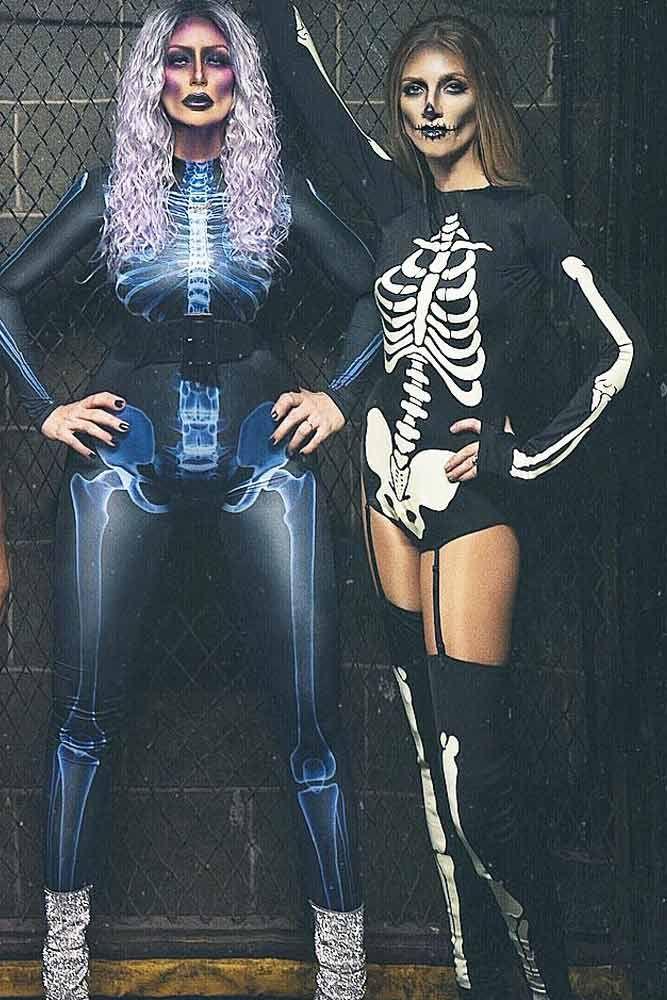 Halloween Costumes 2020 Skeleton 36 Creative Best Friend Halloween Costumes For 2020   Halloween