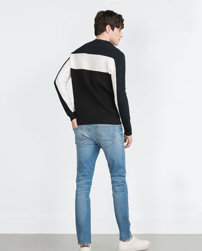 COLOUR BLOCK SWEATER-View all-Sweaters and cardigans-MAN | ZARA Hungary