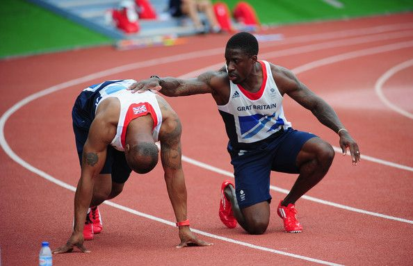 Mark Lewis-Francis Pictures - Olympics Day -2 - Team GB Track and ...