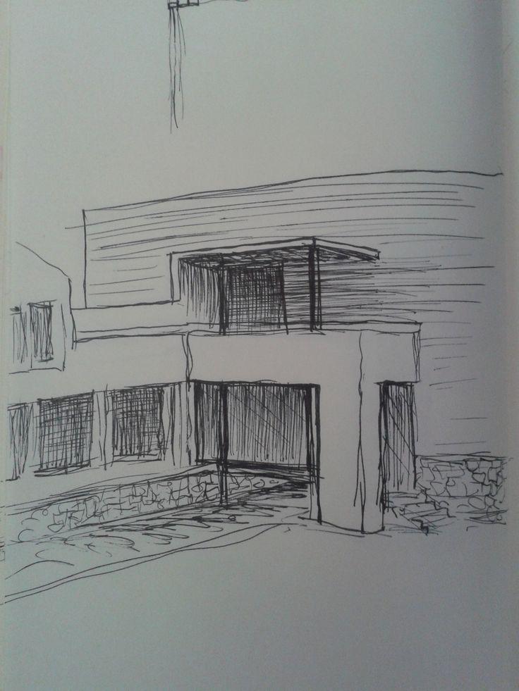 New rendering for indoor/outdoor pool gate