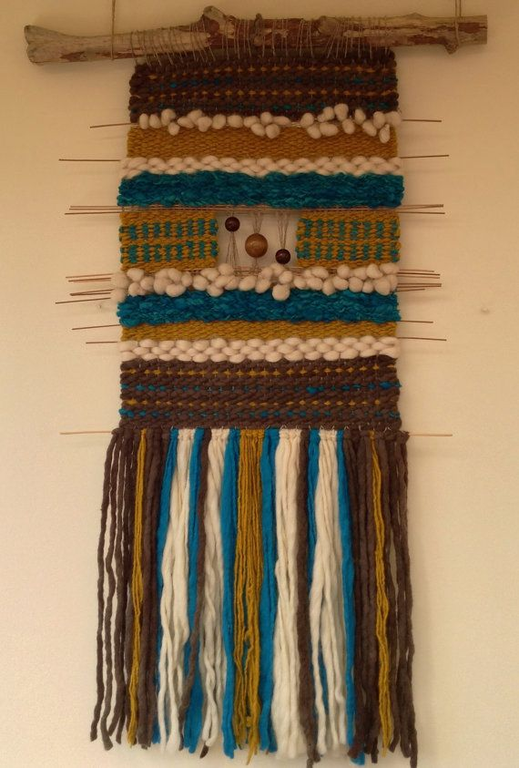 Woven Wall Tapestry by WovenHomeArt on Etsy, $300.00