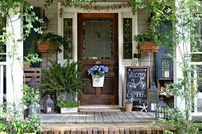 summer front porch 2013 our favorite room, curb appeal, outdoor living, porches, Summer Front Porch 2013 FavoriteRoom