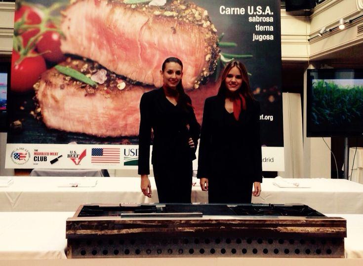 Azafatas en la presentación USMEF | ABC de Serrano en Madrid - http://agenciafama.es/azafatas-en-la-presentacion-usmef-abc-de-serrano-en-madrid/