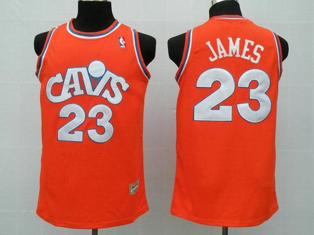 Cleveland Cavaliers 23 James orange3 Jerseys $18.99