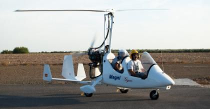 Piloto por 1 día con curso iniciación al vuelo en autogiro » Tuawo