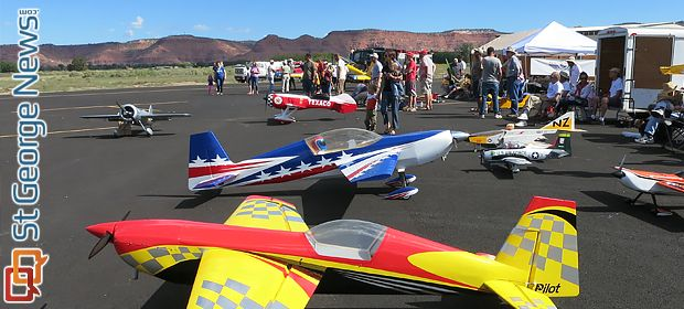 """ST. GEORGE — Come watch over 100 radio-controlled aircraft fly during the 4th annual """"Radio-Controlled Air Show & Fly-In"""" Saturday at Kanab MunicipalAirport, 2378 US-89A, in Kanab. The fly-in will provide fun activities for all ages, allowing individuals the ability to practice flying using a free flight simulator or try their hand at flight with …"""