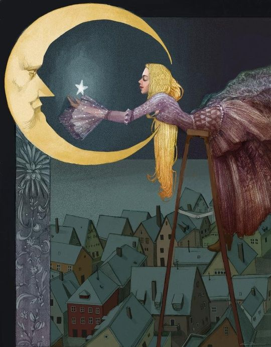 Starlight by Carson Brown. digital art