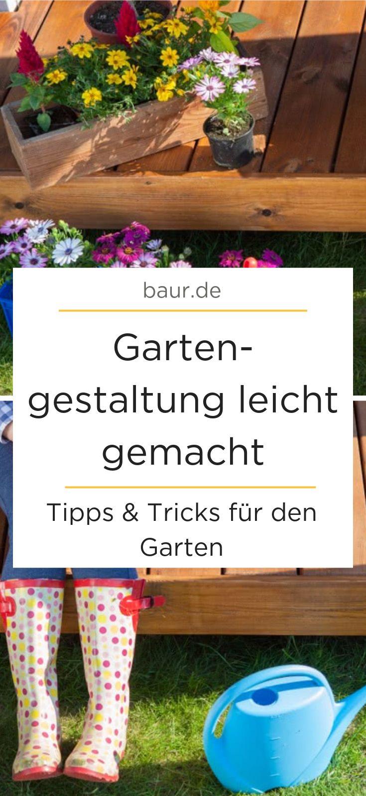 Gartengestaltung leicht gemacht – Tipps und Tricks für den Garten