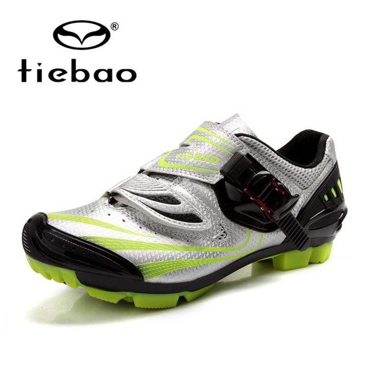 Tiebao Breathable Athletic Cycling Shoes Unisex Outdoor Mountain Bike Road Bike Racing Self-Locking Athletic Shoes PVC Soles