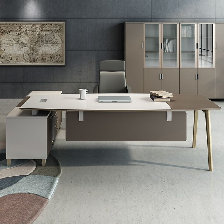 The Involves White Office Furniture In This Post We Go To The Pros And Cons Of Redecorati With Images Office Furniture Design White Office Furniture Office Interior Design