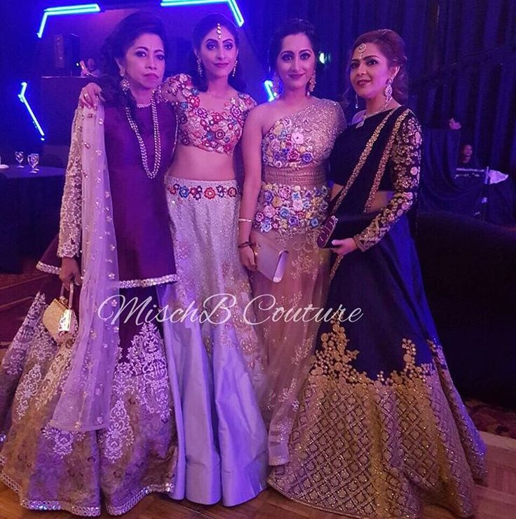 These gorgeous ladies in MischB Couture