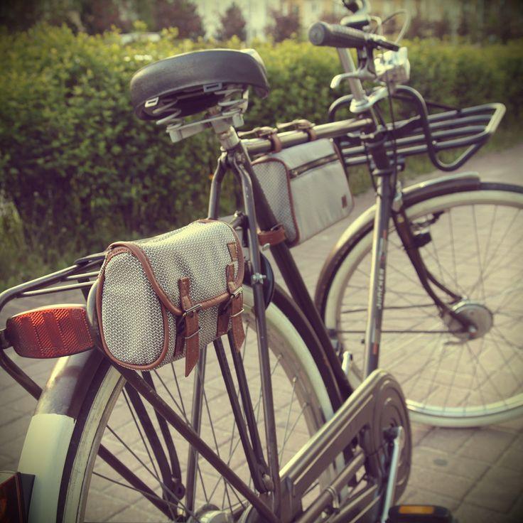 Sakwy rowerowe. Na rowery stylowe, miejskie, holenderskie