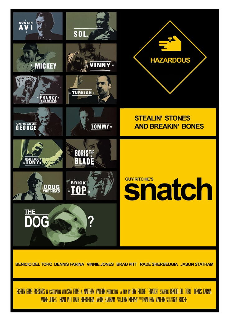 snatch: Guys Ritchie, Guys Richie, Books Movies Tv Mus, Snatch 2000, Book Movies Tv Mus, Cinema, Snatch Movies, Best Movies, Snatch 3