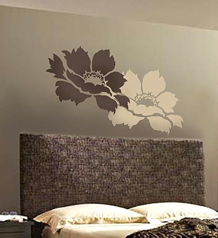 Wall Stencil Art 93 best wall art images on pinterest | wall stenciling, stencils