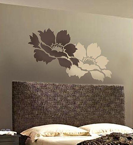 stencil #stencils #stencil #wall #stencil #wall art #large stencil #stencil design #stencils for walls #DIY #Decal #Wall #Decal #flower stencil #large flower stencils #flower art www.cuttingedgest...