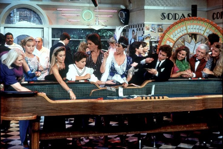 Charles in Charge still.  Josie Davis, Nicole Eggert, Alexander Polinsky, Scott Baio, Ellen Travolta, Willie Aames, James Callahan