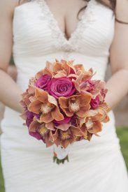 Enchanted Florist Las Vegas Rose and Orchid Love Brides Bouquet 2