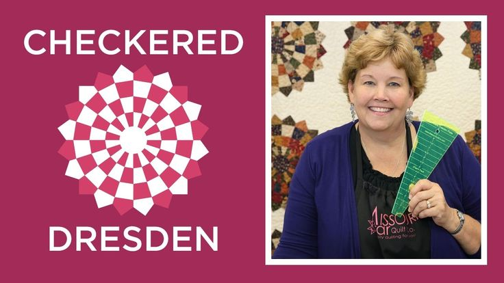 Make an Easy Checkered Dresden Quilt with Jenny! - YouTube