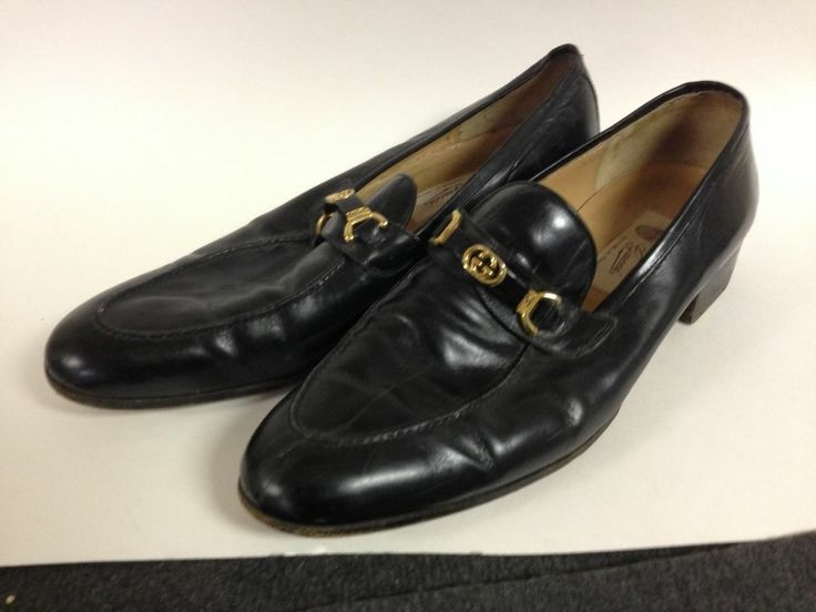 Gucci Shoes GG Bit Loafers Black