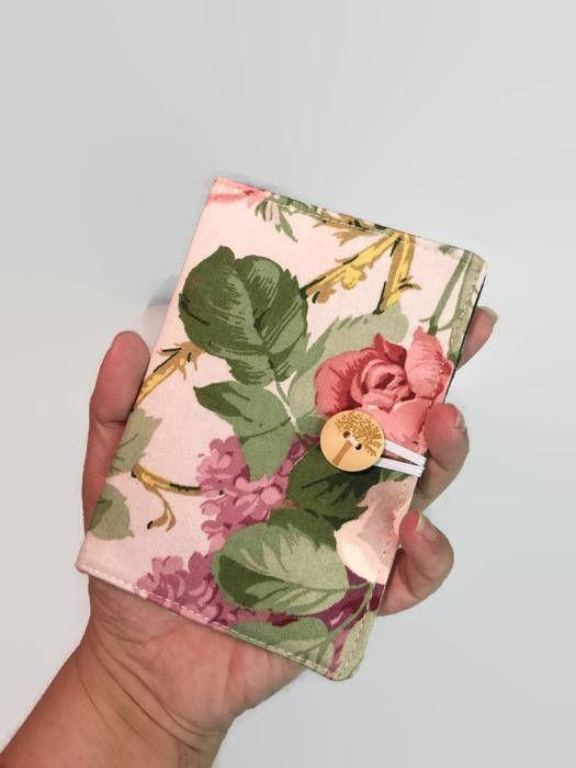 Mini Credit Card Holder Card Holder Pink Floral Card Holder