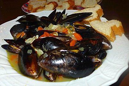 Muscheln in Weißwein, ein leckeres Rezept aus der Kategorie Gemüse. Bewertungen: 151. Durchschnitt: Ø 4,4.
