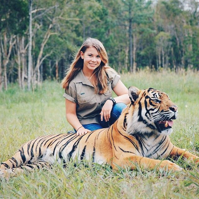 """It took me until I was about three years old to realize that we didn't just come to the zoo every day, that we actually lived here"" - Bindi Irwin"
